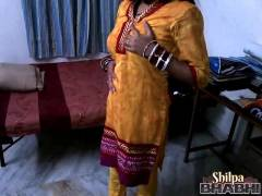 Shilpa Bhabhi In Yellow Churidaar